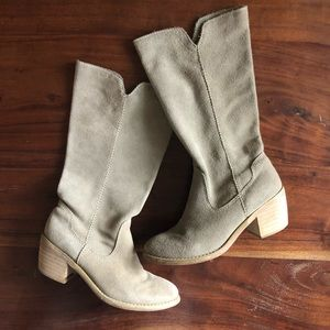 Suede Boho Boots